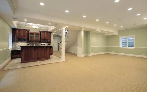 high end basement