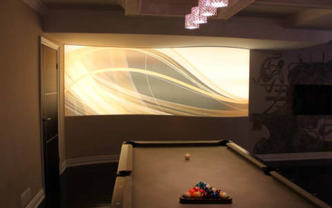 basement game room toronto