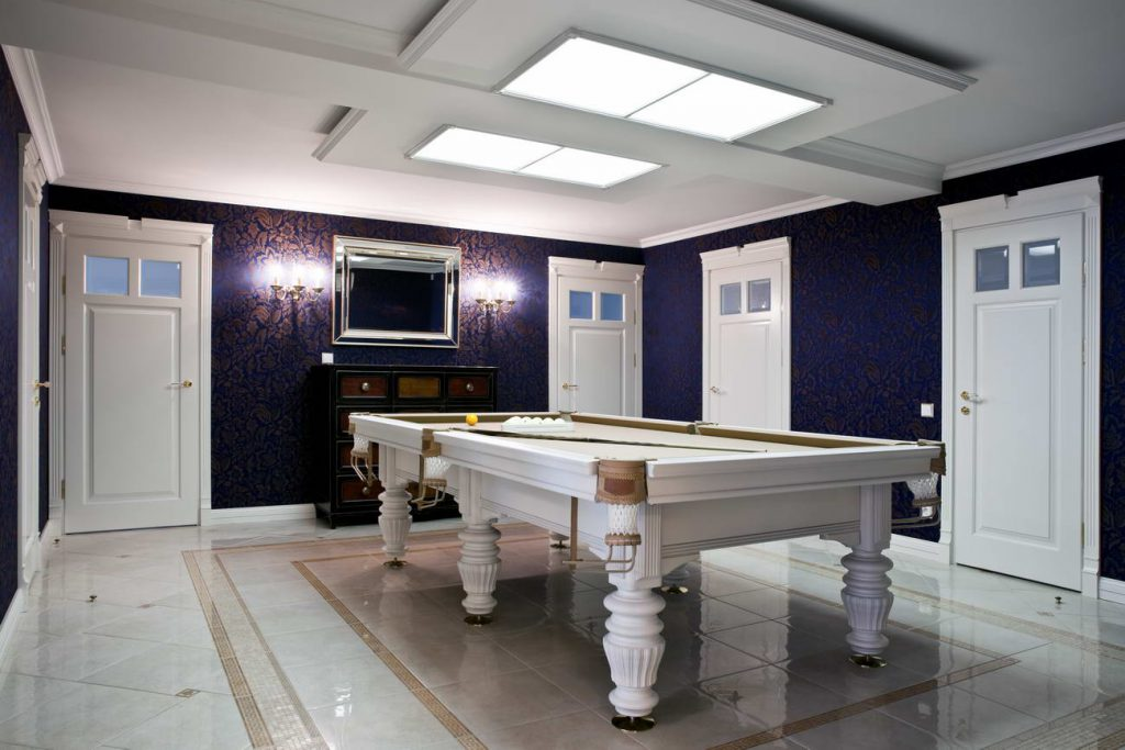 basement game room vaughan