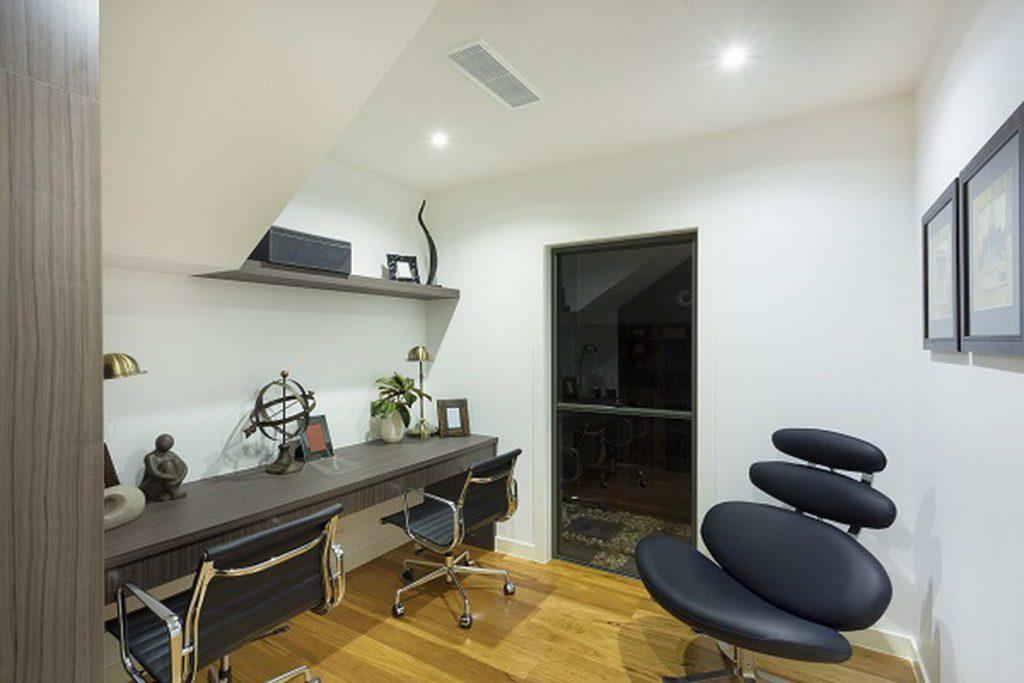 basement office design image