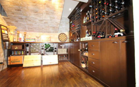 basement wine cellar toronto
