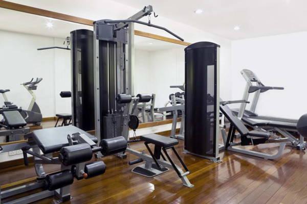 home gym basement
