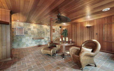 home steam sauna