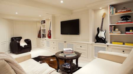 Luxury Basement Renovation Without the Financial Dent