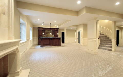 luxury basement ideas
