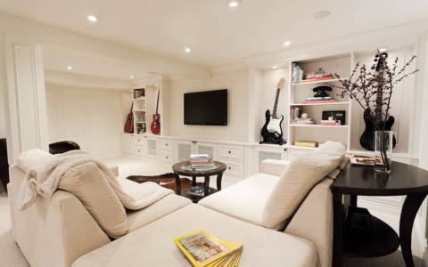luxury basement toronto