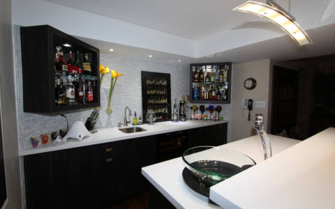 Basement-bar
