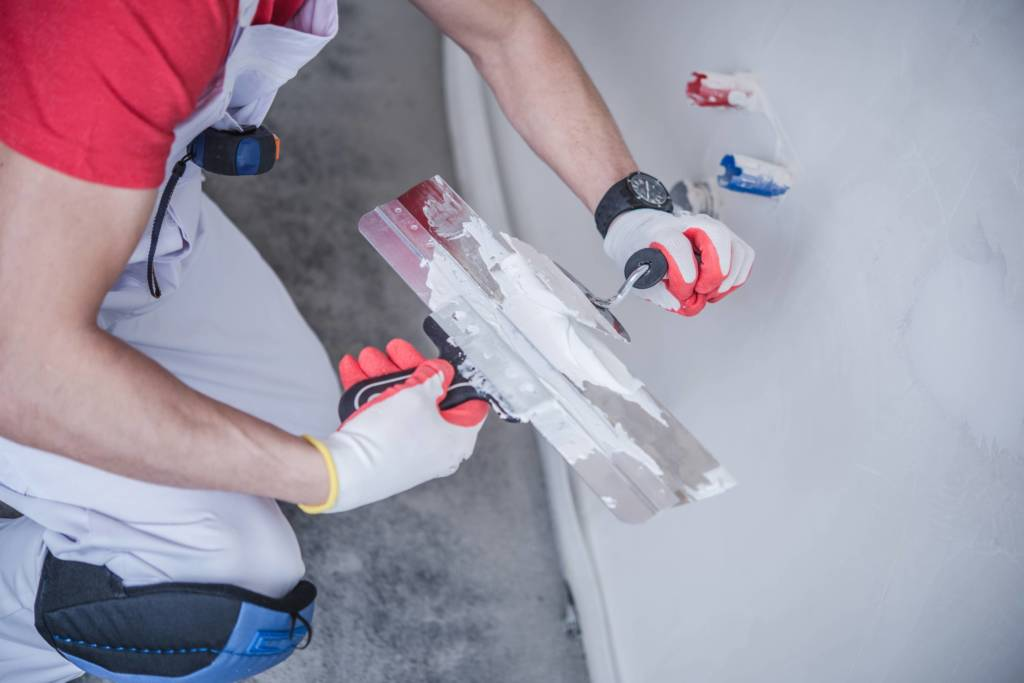 image of drywall patching
