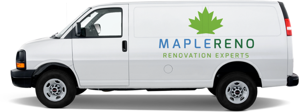 MapleReno basement renovation van