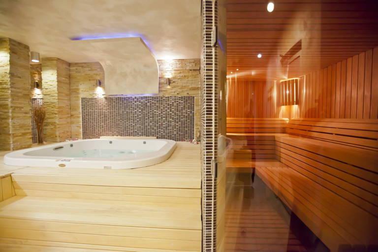 sauna basement renovation