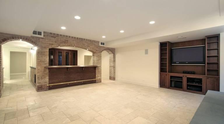 basement contractors renovation