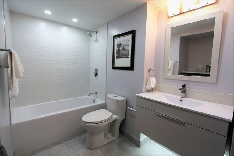 basement bathroom after renovation