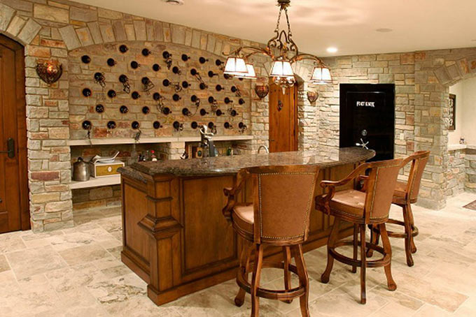 basement bar design oakville