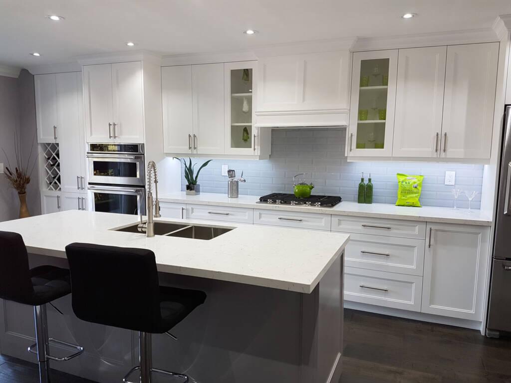 Luxury Basement Kitchen Renovation Project by Maple Reno Aurora